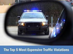 Top 5 Traffic Violations