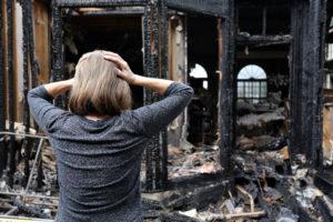 house fire claim-free